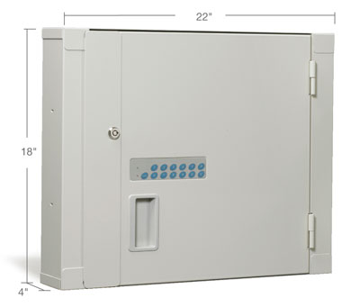 Small High-Security Narcotic Storage Cabinet
