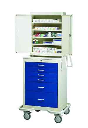6 Drawer Suture Storage Cart