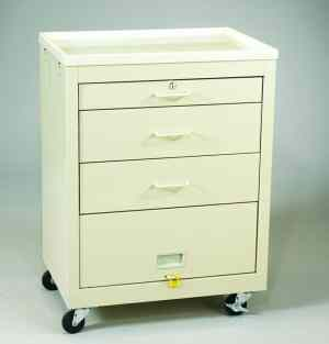 3 Drawer Value Bedside Medical Cart