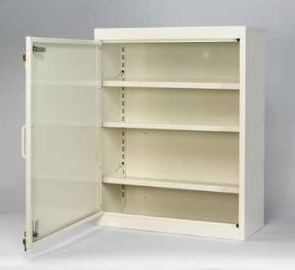 Three Shelf Narcotic Storage Cabinet