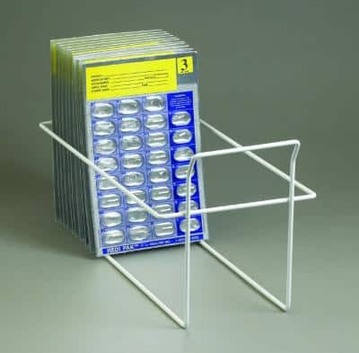 Punch Card Rack