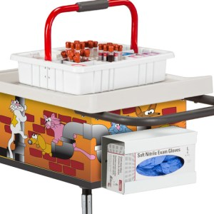 Pediatric Alley Cats and Dogs Phlebotomy Car