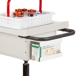 Single Bin Phlebotomy Cart