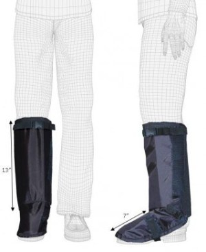 Techno-Aide Leg Guard - Radiation Protection for the Lower Leg