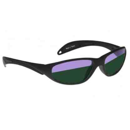 Model 208 Glassworking Split-lens Safety Glasses - Black