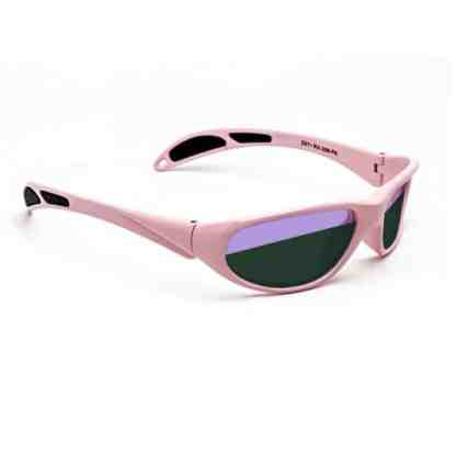 Model 208 Glassworking Split-lens Safety Glasses - Pink