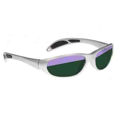 Model 208 Glassworking Split-lens Safety Glasses - Silver