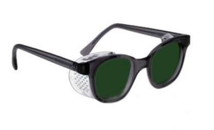Model 70F Economy Frame with Quartz Working Shaded IR Safety Glasses