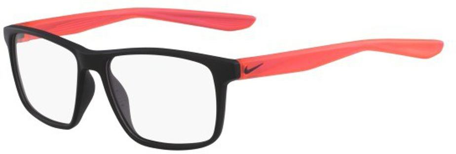 Nike 5002 Radiation Protection Glasses - Matte Black Solar Red
