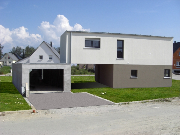 Maison  Drusenheim  GILLES KEMPF ARCHITECTE DPLG