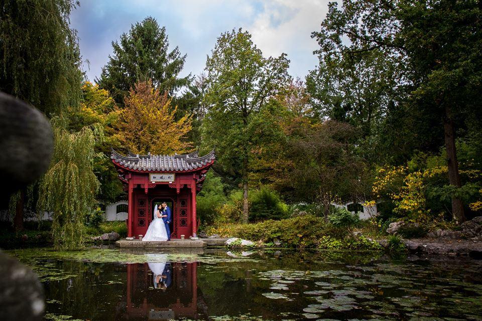 Hortus Haren | Bruidsfotografie Kempff Fotografie