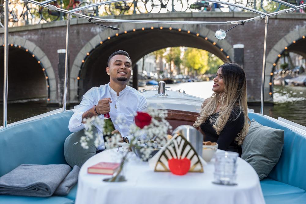 Huwelijksaanzoek Amsterdam