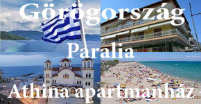 Görögországi nyaralás apartmanban