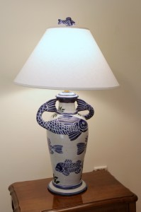 Sgraffito Lamps