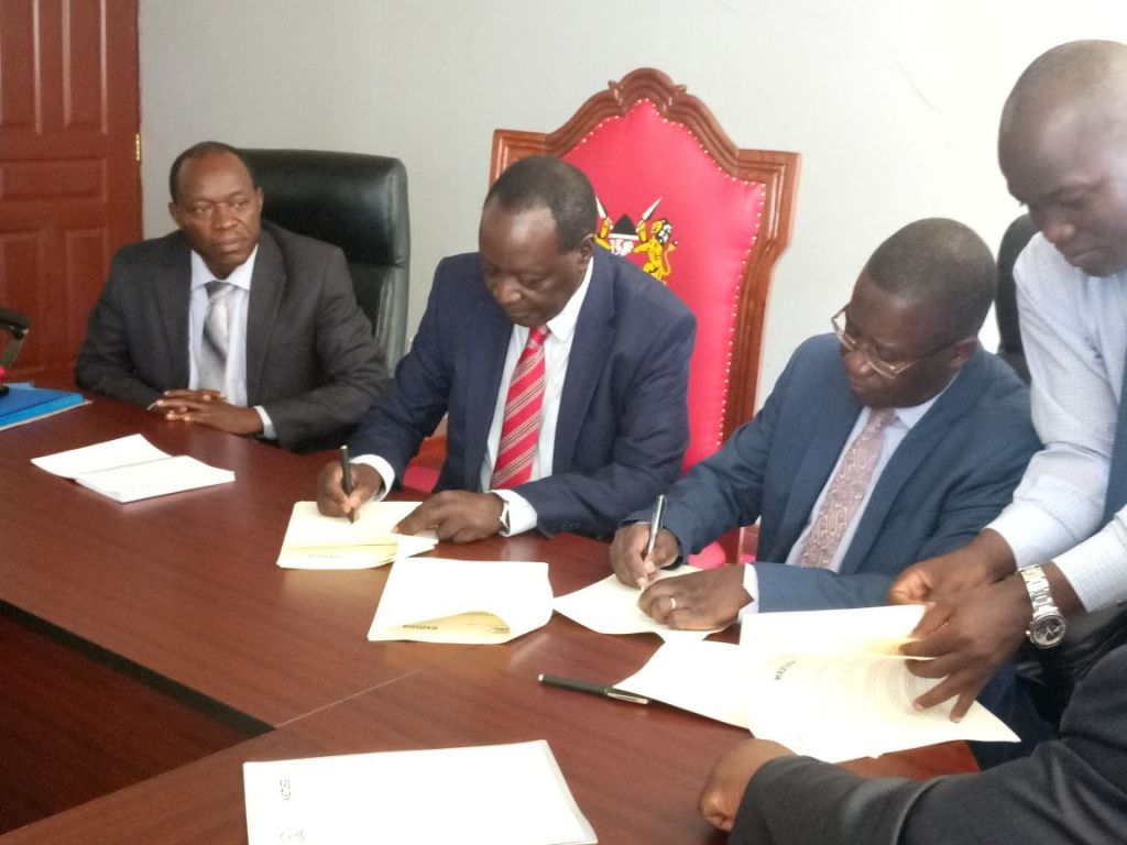 Talking Notes For KEMSA Ag Chief Executive Officer Philip Omondi during the Signing of Mou With Vihiga County on 22nd September 2017