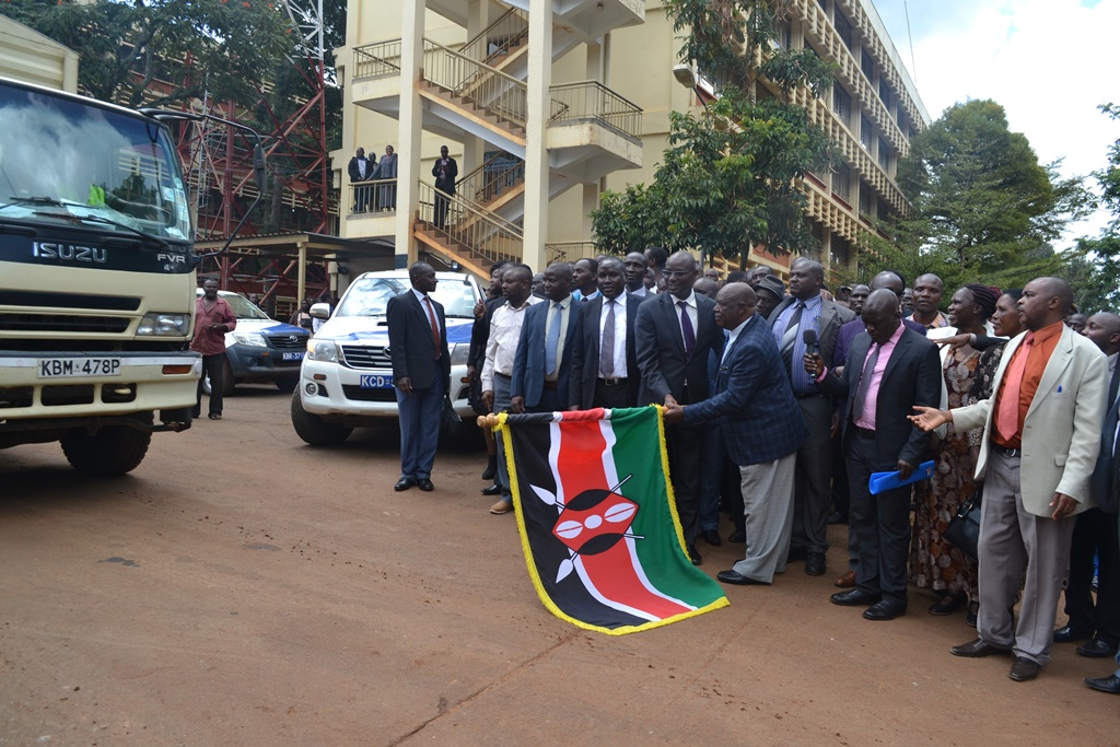 Nyamira County Flag Off