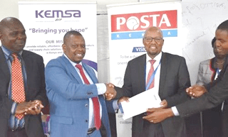 KEMSA enters into partnership with Postal Corporation of Kenya