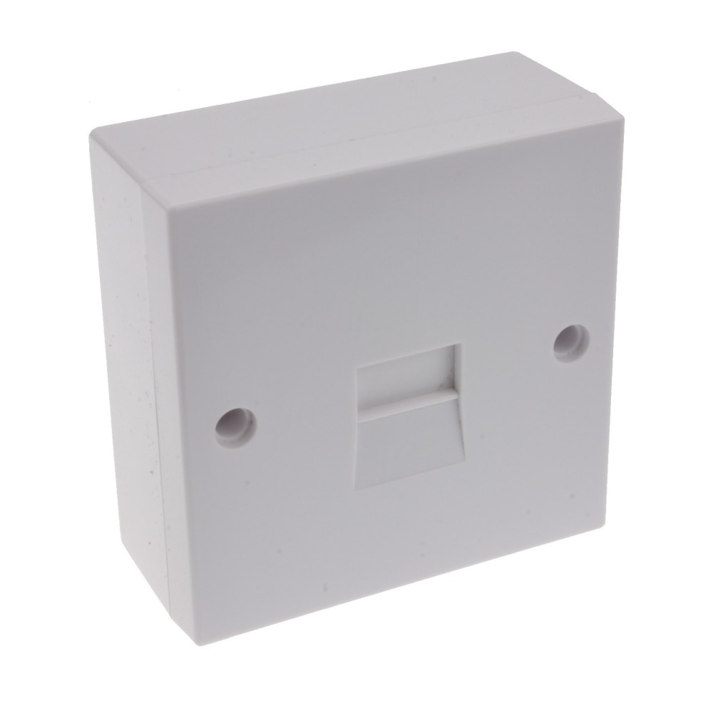 medium resolution of telephone secondary idc punch 2 3a phone line socket with back box