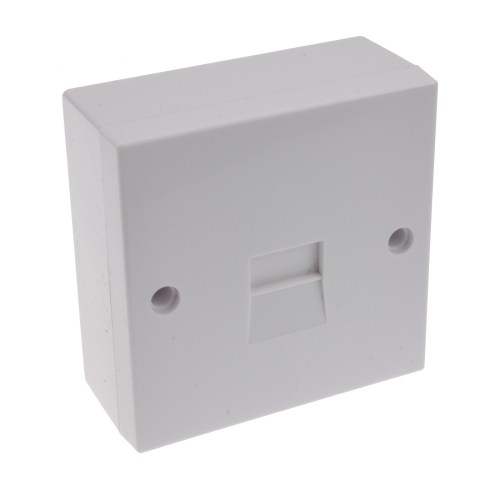 small resolution of telephone secondary idc punch 2 3a phone line socket with back box