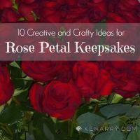 Rose Petal Crafts: 10 Ideas for Keepsakes and Gifts