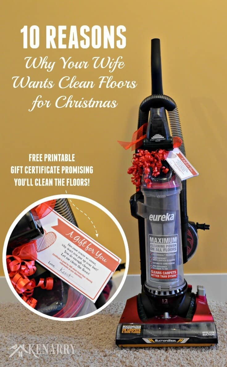 Clean Floors What She Really Wants For Christmas