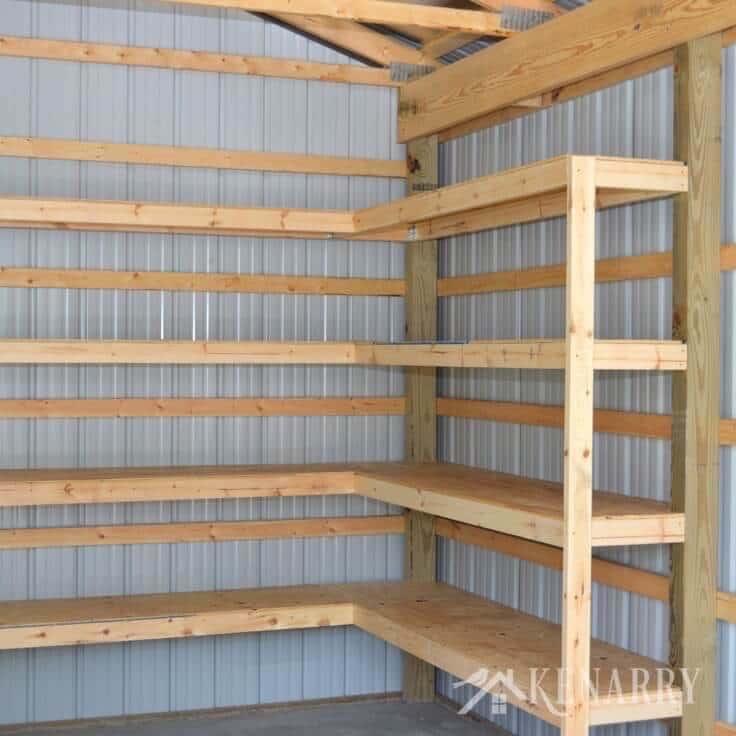 Wall Shelving Storage Heavy Duty Mounted