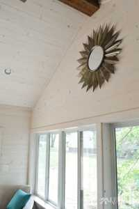Wood Shiplap Vaulted Ceiling