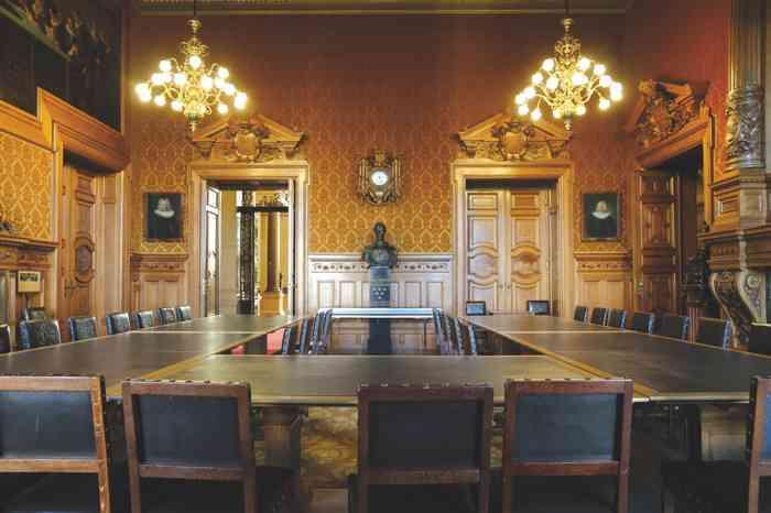 Aussentraustelle des Standesamts HamburgMitte Rathaus Hamburg