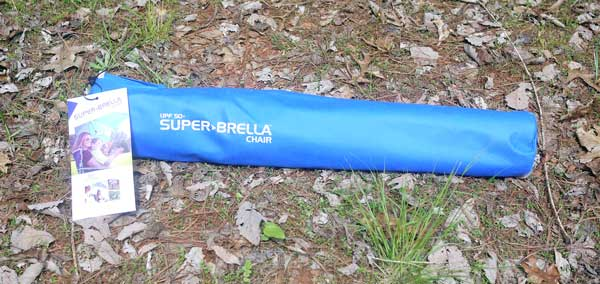 super brella chair gym dvd review sitting in the shade with umbrella bag