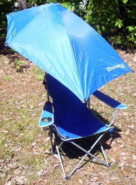super brella chair christmas covers near me review sitting in the shade with umbrella open