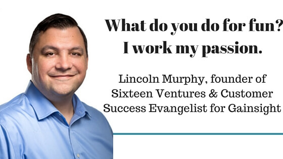 LIncoln Murphy insights on his personal customer journey map