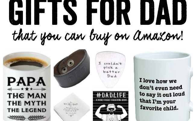 Gifts For Dad 20 Gift Ideas That You Can Buy On Amazon