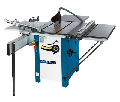 Precisa 3.0 Scheppach table saw with right hand extension and rear table 3.5hp 230volt / 16amp motor