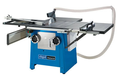 Scheppach Precisa 6VR Table Saw Bench 110mm Deep Cut Complete With Scoring Saw