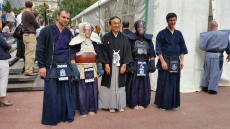 Članovi HKS-a sa Veleposlanikom Japana u Hrvatskoj na Danima Japana 2014.