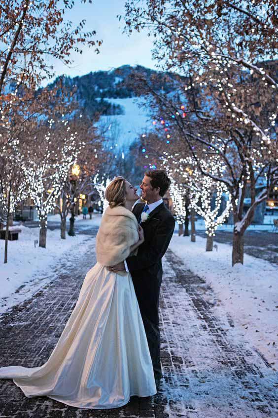 Matrimonio a tema natalizio 1