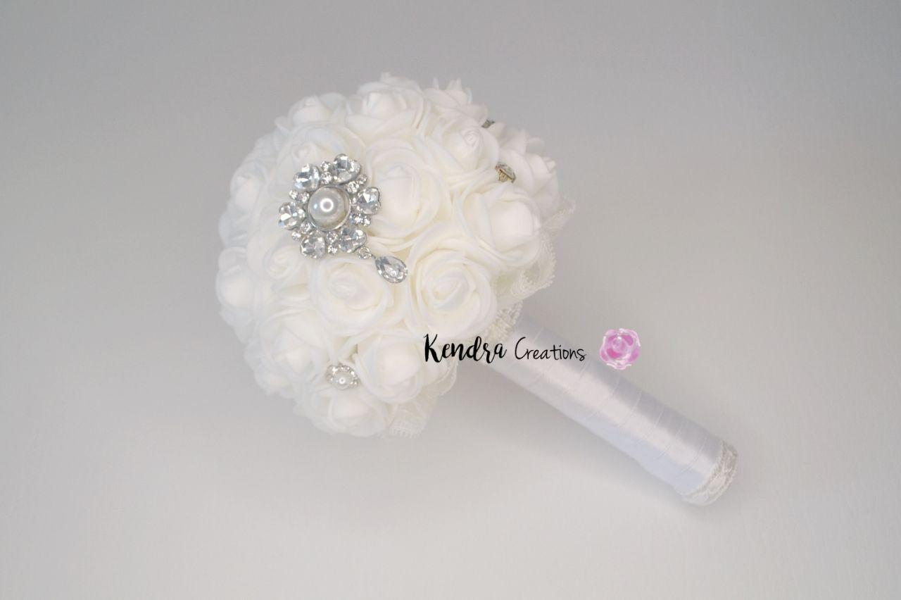 Bouquet comunione gioiello