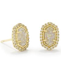 Cade Gold Stud Earrings | Bridesmaids Jewelry | Kendra Scott