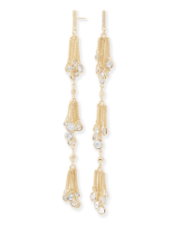 Tallulah Shoulder Duster Earrings in Gold | Kendra Scott