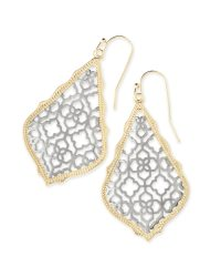 Kendra Scott Drop Earrings Lee Silver Drop Earrings In ...