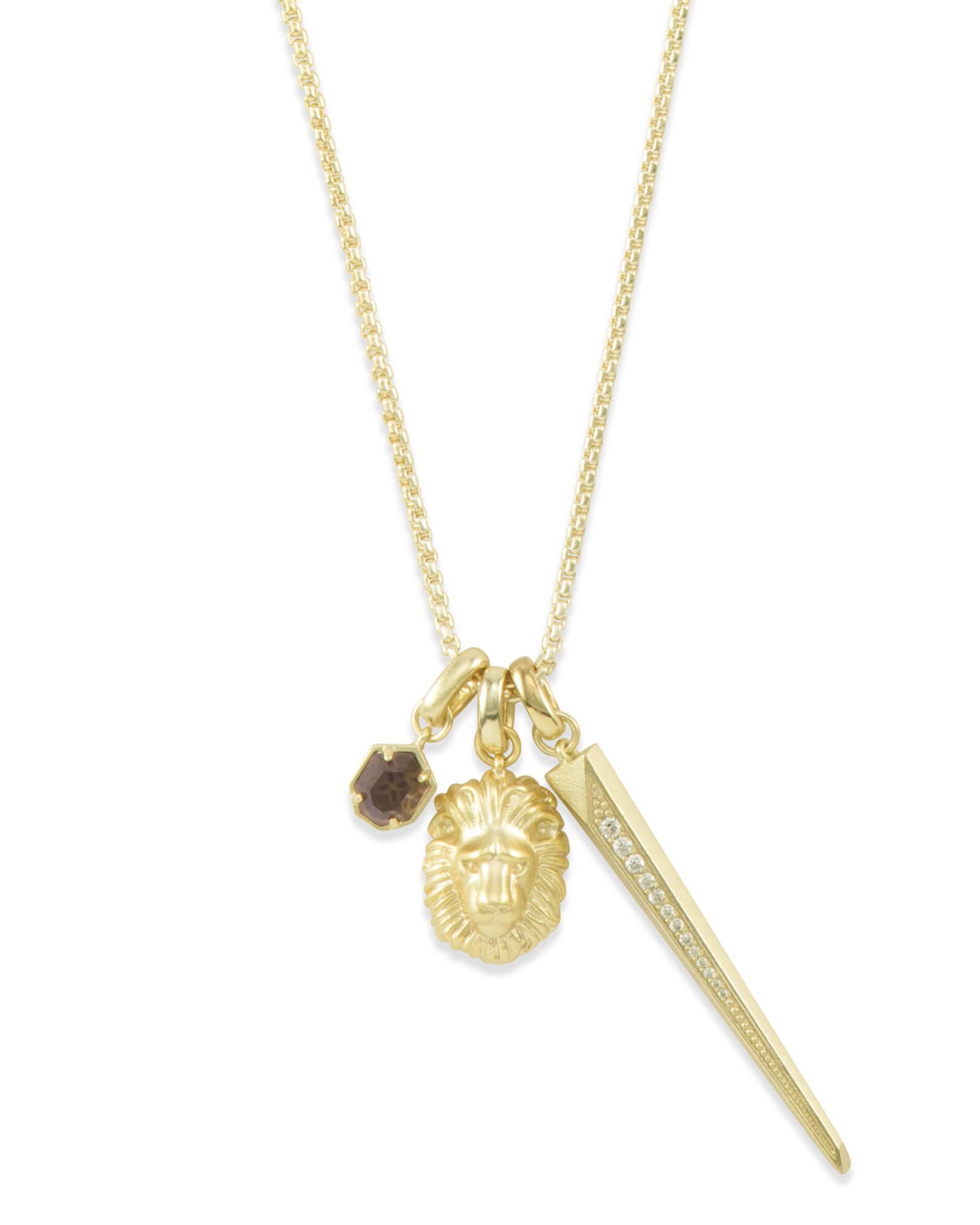 fierce charm necklace set
