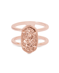 Elyse Ring in Rose Gold | Jewelry | Kendra Scott