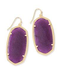 Purple Jade Earrings Lavender Jade Earrings Ebay ...