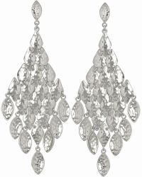 Nera Chandelier Earrings in Silver | Kendra Scott Jewelry