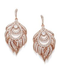 Emelia Chandelier Drop Earrings in Rose Gold | Kendra Scott