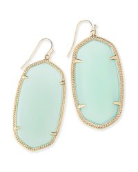 Danielle Statement Earrings in Chalcedony | Kendra Scott