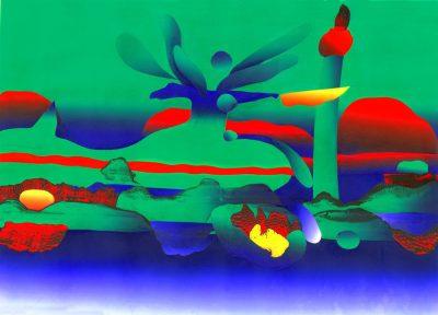 environmental diaster gulf coast print