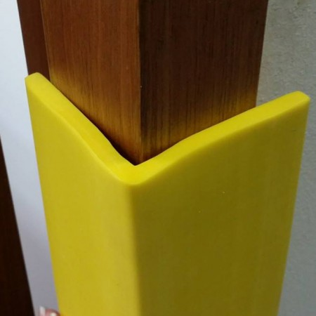 Yellow LShaped Strip  Rubber Products Seales and