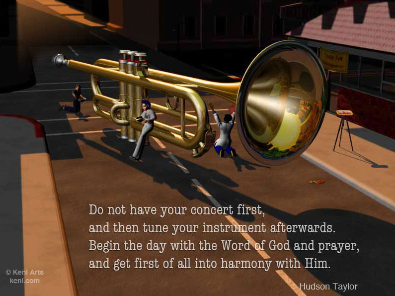 Blow Your Trumpet – Make Harmony With the Lord