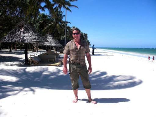 Andreas in Kenia